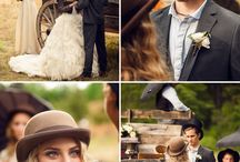 Victorian/steampunk wedding