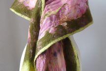 палантины, шарфы, платки