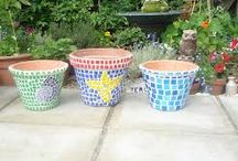Polymer Clay Pots