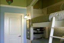 Green & Blue room ideas / by Rene' Domenzain