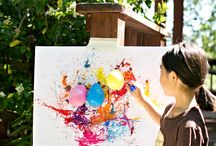 Peinture enfant / Jeu