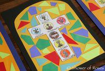Catholic craft-Ideas / Szentségek,térképek, szentek  stb.