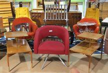 20th c. Modern Design / Selection of 20th c. Modern design furniture, lighting, and decor.