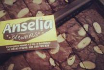 anselia brownies / nikmati dalam setiap gigitannya