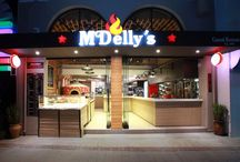 McDelly's by Manousos Leontarakis & Associates / To everybody around Hersonissos, Crete known Fast Food McDelly's is fully refurbished by Manousos Leontarakis & Associates at a new location close to the sea.