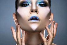 extravagant makeup