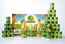 Kampania Somersby! / Wyjątkowy smak, subtelna zawartość 4,5% alkoholu oraz delikatne musowanie bąbelków sprawiają, że czas płynie wolniej i każdy przenosi się do świata owocowej radości. #OdkryjSomersby