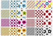 Diseño de Motivos y Tramas / Diseño y tramas para diseño de papelesy telas