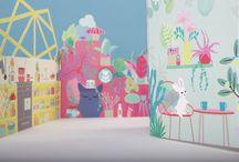 Maisons de poupée / De magnifique décors en miniature pour mettre tous les jeux en scène.