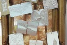 Laser Cut Invitations  •  Προσκλητήρια Τελεία / wedding invitations, laser cut