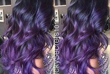 Lila-szürje haj/Purple-Grey hair