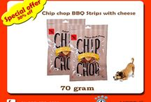 Buy Chip Chops Chicken Sausages Dog Snacks . / #Chip_Chops_Chicken_Sausages_Dog_Snacks a tasty thus far nutritional dog snack, this treat pack from Chip Chop is highly digestible also Use it as a snack or a prize, this treat pack is a guilt-free way to shower love to your dog.  #Features:- •Made of actual fresh meat •Highly nutritional and digestible •Use it as a snack or a treat