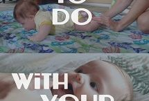 Crafts/Activities - Baby Newborn to 6 months / Things to do with your six month old, activities, crafts, stuff to make / by Melissa French: More With Less Mom & HousePunkery