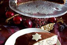 Weihnachtsessen/torten
