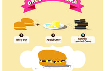 Mix Oreo / New, uncommon ways of combining Oreo with existing foods.