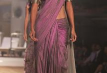 wine saree