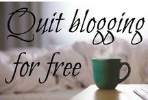 Blogging Tips / How to make money blogging