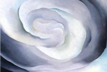 """GEORGIA O'KEEFFE / Wisconsin, 1887 - 1986 """" I feel there is something unexplored about woman that only a woman can explore. """"   - Georgia O'Keeffe / by Elena Carbonell"""