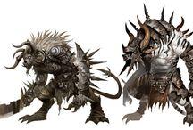 Monsters & Darkeeer lords