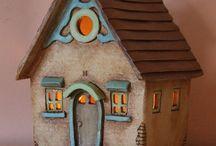 ceramiczne domki