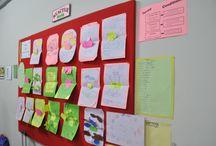 Students Work Display / Display of students work.