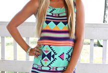 summer aztec dress