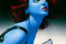 Marvel, liga d la justicia, héroes, villanos y mutantes / by Robins Barrios