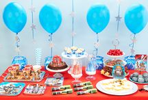 Star Wars Rebel Party Supplies / Use the force to throw the best Star Wars themed Birthday Party on the block with these great DIY party ideas & products!