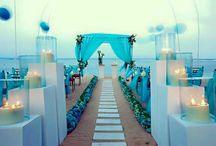 beach wedding ideas aisle