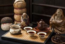 """""""3917"""" 1996 Sheng Pu-erh / 3917 is a very drinkable cusp tea graduating from raw, racy, and astringent to ripe, contemplative and mellowing. This is a tightly compressed tuocha with layers to peel."""