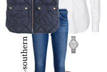 Autumn/Winter Style Inspo / Southern fashion with an edge.