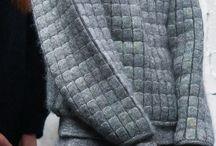 Catwalk - Urbanity / Blue/grey theme woollen/minimalist/Japanese fashion Badlands -> Rocky sea (<second shoot?)