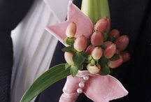 Buttonholes and wrist corsages / Designs for occasion buttonholes