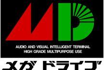 Mega Drive Japanese / SEGA Mega Drive Japanese Games / by Marc Otzmann