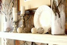 fireplace and mantels / by YouAreTalkingTooMuch.com Blog
