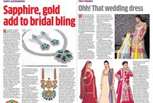 Coverage of Apala by Sumit, Expert Input on recent & happening trends in bridal jewellery carried by Deccan Herald Newspaper today.