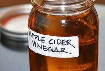 Apple cider vinegar (dr.Os)