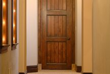 """Interior Doors / Sometimes called """"passage doors"""" (indicating passage between interior rooms or into closets), wood Interior doors add natural beauty and warmth to the home. Custom interior doors do not have the same pre-finishes, or security requirements as exterior wood doors."""