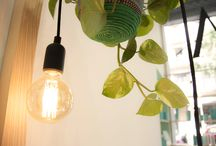 Hair Saloon in Barcelona / Ateliers Beauty Perruquers. Our work for a fresh and naturally hair saloon with mint touch!