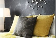 Grey & Yellow Interiors