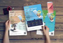 Flyer Templates on Creative Store / Flyer Templates on Creative Store