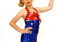 Sailor, Patriotic, Nautical / Unique Fashion Outfits by Hollywood Babe Inc. Sailors, Patriotic, Nautical or just want to look and feel high fashion. Hollywood Babe Inc. Unique fashion and designs are a click away