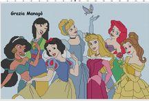 Point de Croix Princesses Disney