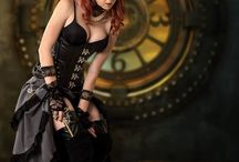 Steampunk Ladies / We celebrate the intricate beauty of Victorian style, steampunk fashion statements.