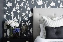Home Decor- Black  / Decorating with Black.
