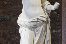 Greek statue shoot