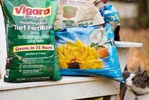 Fertilizing Tips / It is important that you read the label on lawn fertilizer. All bags of fertilizer have three numbers on them: e.g., 15-0-15. The first number is the percentage of nitrogen, the second is the percentage of phosphorus and the third is the percentage of potassium. Look for the ZERO in the center when choosing lawn fertilizer (phosphate free).