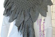 Cuellos y bufandas / Tejidos a mano