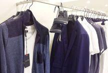 Armani Jeans PE15 Uomo / allestimento in negozio delle ultime tendenze di Armani Jeans per la Primavera Estate 2015