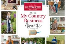 2016 My Country Business Awards / Enter the Country Homes & Interiors 2016 My Country Business Awards in association with notonthehighstreet.com. Win a money-can't buy package of mentoring and marketing from the UK's leading business brains